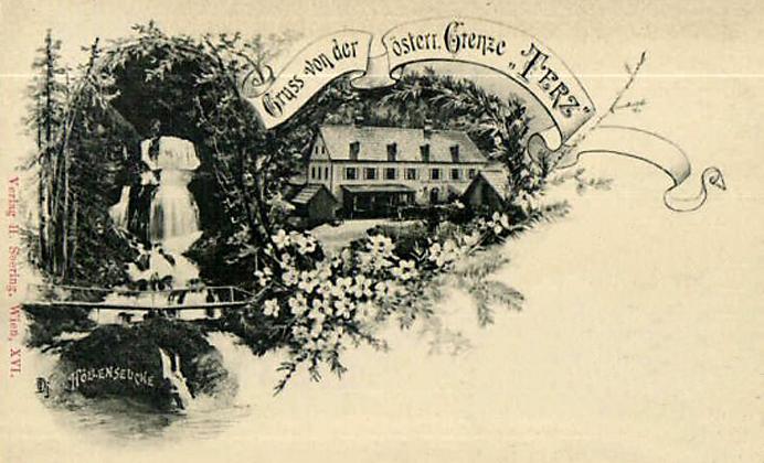 Ansichtskarte, um 1900