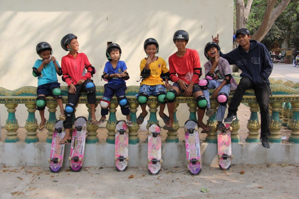 Skateistan_Press Image_ Boy's student at Outreach session_ Phnom Penh_©Skateistan